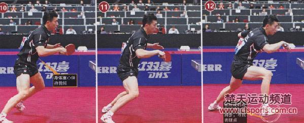 乒乓球技术:马龙发球后的连续进攻套路技巧