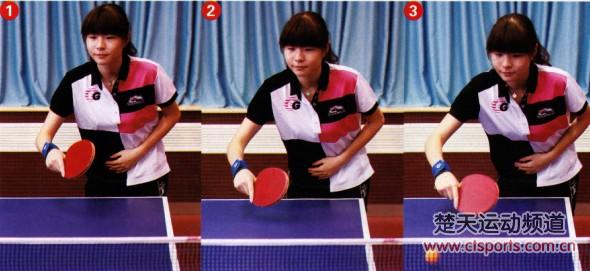 乒乓球横拍发球视频_乒乓球发球技术图解图片分享