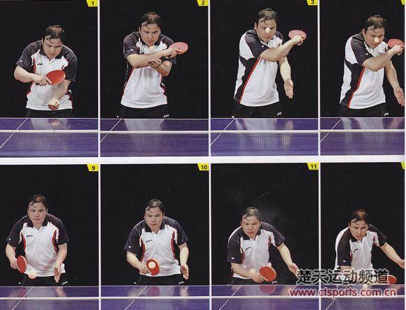 乒乓球横拍发球视频_乒乓球横拍发球图解 _排行榜大全