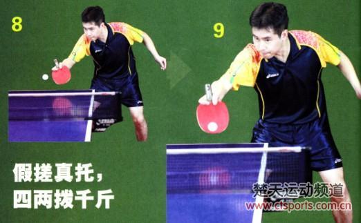 乒乓球技术:拖下旋球技术(图)-翔云乒乓球培训