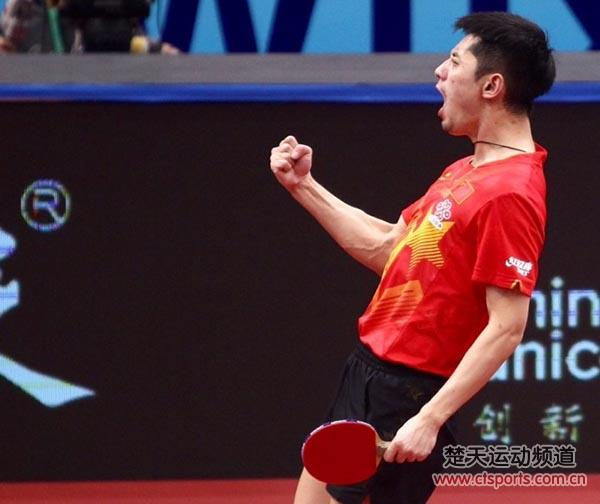 2017无锡乒乓球亚锦赛男单1/8决赛张继科vs大岛佑哉视频