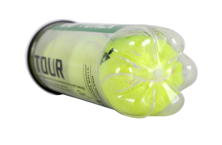 YONEX尤尼克斯网球 TOUR-3系列yy胶罐装加压比赛专用球 3粒装