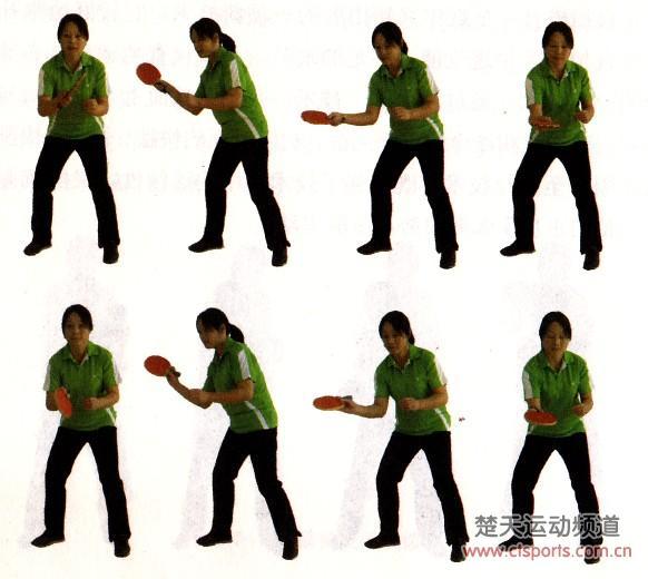 搓球训练:乒乓球反手慢搓和正手慢搓