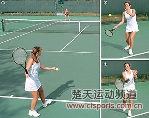 下手发球 网球下手发球 上手发球 排球下手发球 高清图片