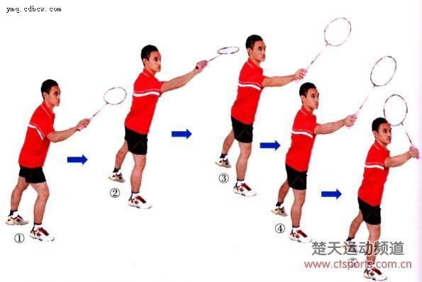 羽毛球技术:反手网球扑球的动作要领