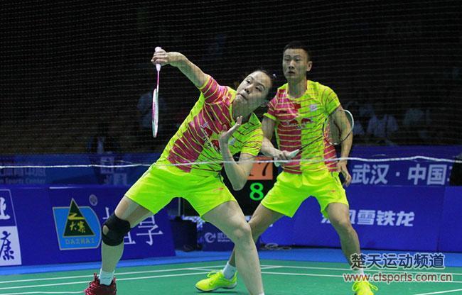 2016亚锦赛:张楠/赵芸蕾2:1阿玛德/纳西尔混双夺冠